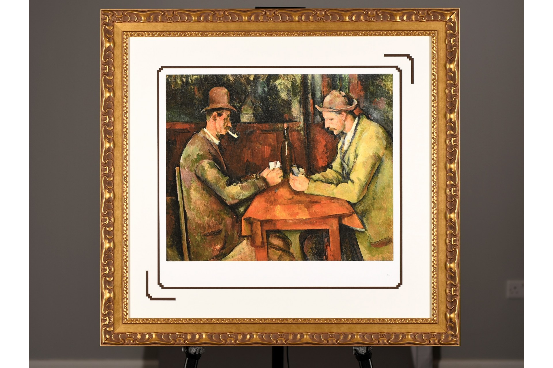 "Limited Edition ""The Card Players"" by Paul Cezanne"