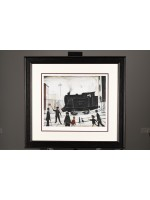 """Limited Edition """"Level Crossing, (1946)"""" by L.S. Lowry"""