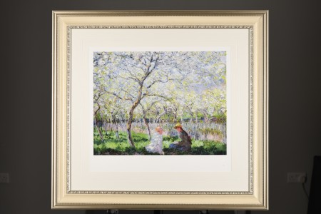 "Limited Edition by Claude Monet ""Springtime, (1886)""."