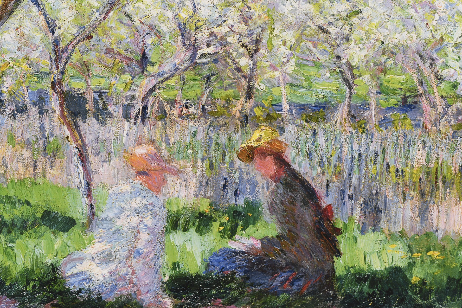 """Limited Edition by Claude Monet """"Springtime, (1886)""""."""