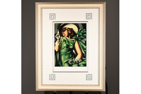 Limited Edition by Tamara De Lempicka. Supplied with Lempicka  Estate (New York) Authenticated Certificate.