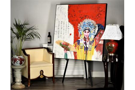 Original Large Oriental Painting