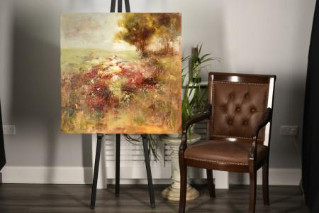 Impressionist Landscape Oil on Board