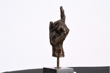Bronze Casting of a Human Hand