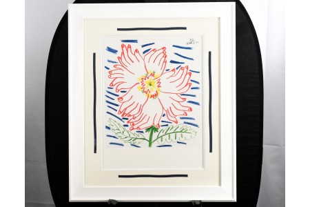 """Rare Limited Edition by Pablo Picasso """"Flower of Hands"""""""