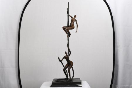 3.5ft Bronze Art Sculpture