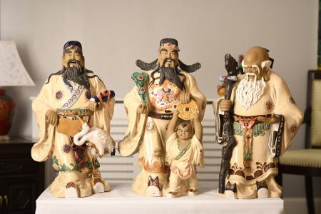 Large Set of 3 Gods