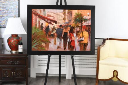 Original Painting of Nice by Tony Rome
