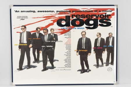 "Original Cinema Poster ""Reservoir Dogs"""