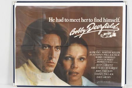 "Original Cinema Poster ""Bobby Deerfield"""