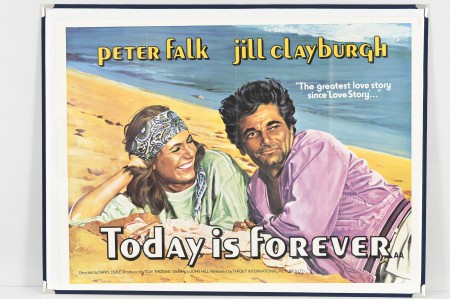 """Original Cinema Poster """"Today is Forever"""""""