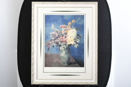 """Limited Edition Pablo Picasso """"Vase of Flowers"""""""