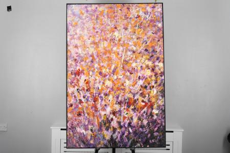 Large Original Impressionist Oil on Canvas