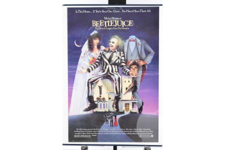 "Original ""Beetlejuice"" Cinema Poster"