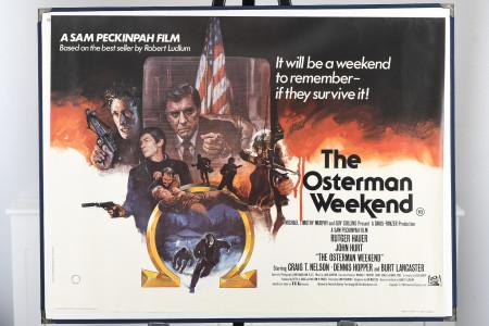 "Original ""The Osterman Weekend"" Cinema Poster"