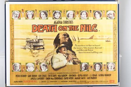 "Original ""Death on the Nile"" Cinema Poster"