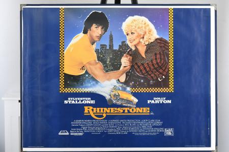 "Original ""Rhinestone"" Film Poster."