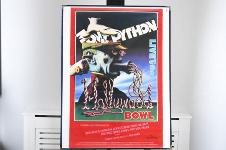 "Original ""Monty Python: Live at the Bowl"" Film Poster"