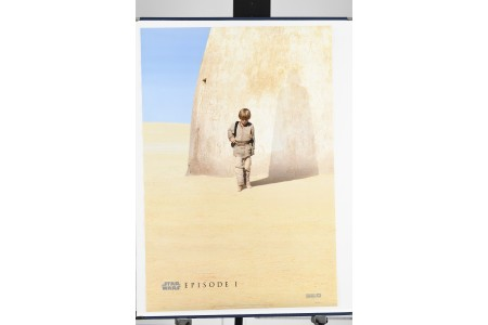 "Original ""Star Wars: The Phantom Menace"" Cinema Poster"