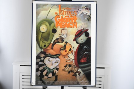 """Cinema Poster from """"James and the Giant Peach"""""""