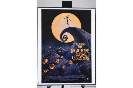 "Original ""The Nightmare Before Christmas"" Cinema Poster"