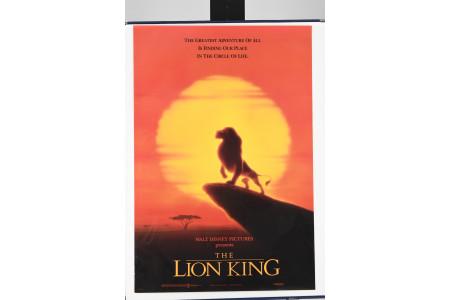 "Original ""Lion King"" Cinema Poster"