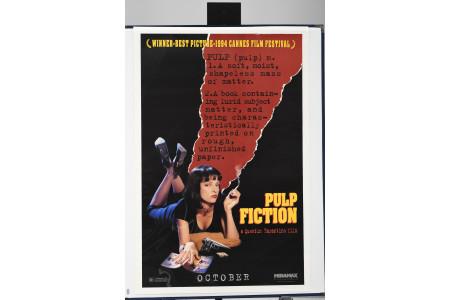 "Original ""Pulp Fiction"" Cinema Poster"