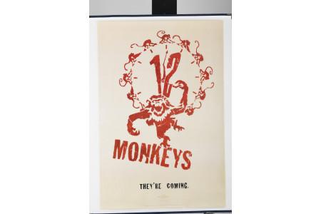 "Original ""12 Monkeys"" Cinema Poster"
