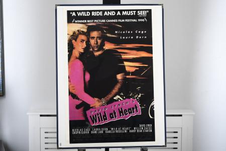"Original ""Wild at Heart"" Cinema Poster"