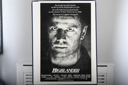 "Original ""Highlander"" Cinema Poster"