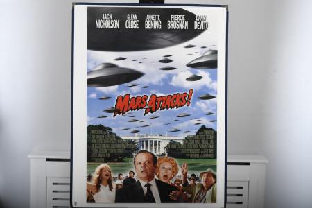 "Original Cinema Poster ""Mars Attacks!"""