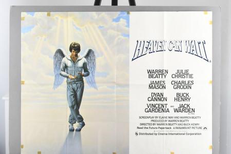 "Original ""Heaven Can Wait"" Cinema Poster"