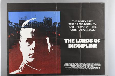 "Original ""The Lords of Discipline"" Cinema Poster"