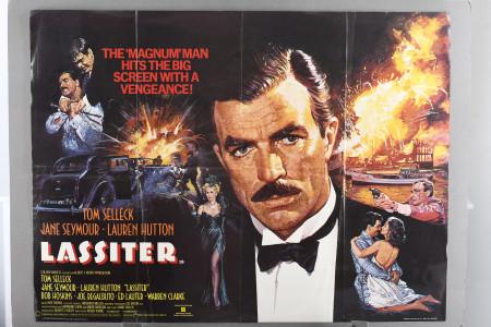 """Original """"Lassiter"""" Cinema Poster"""