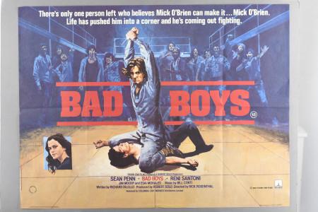 Original 'Bad Boys' Cinema Poster