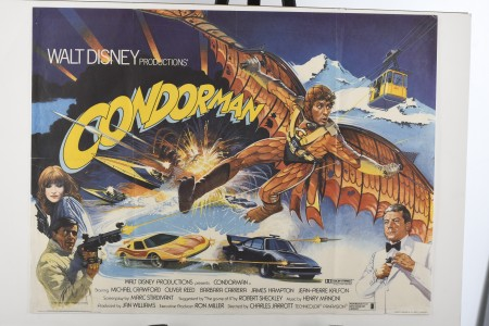 """Original """"Condorman"""" Cinema Poster"""