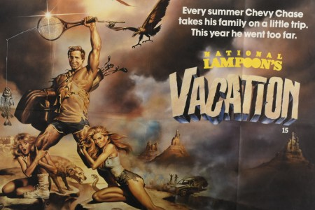 Original 'National Lampoon's Vacation' Cinema Poster