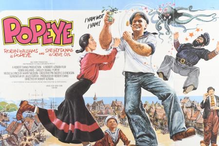 "Original ""Popeye"" Cinema Poster"