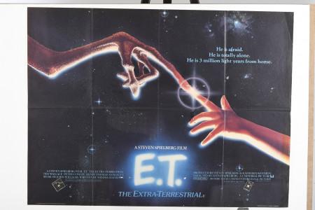 """Original """"E.T.: The Extra-Terrestrial"""" Cinema Poster"""