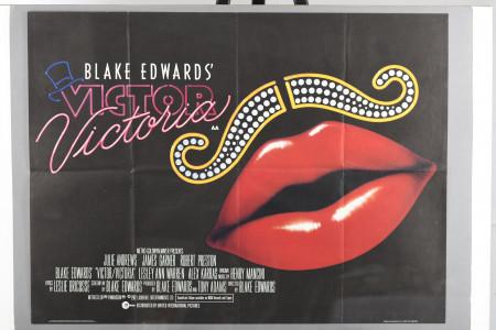 """Original """"Victor/Victoria"""" Cinema Poster"""