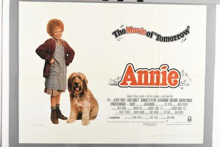 "Original ""Annie"" Cinema Poster"