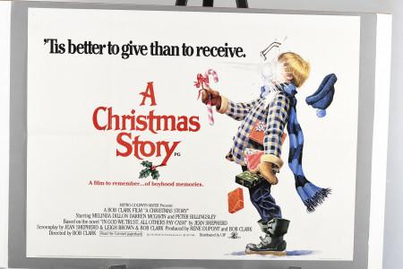 Original 'A Christmas Story' Cinema Poster
