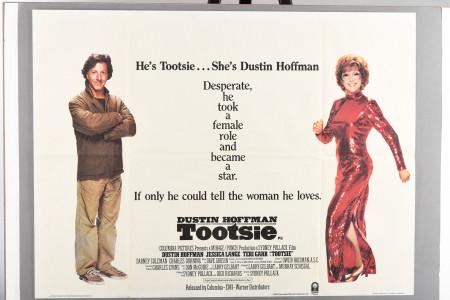 "Original ""Tootsie"" Cinema Poster"