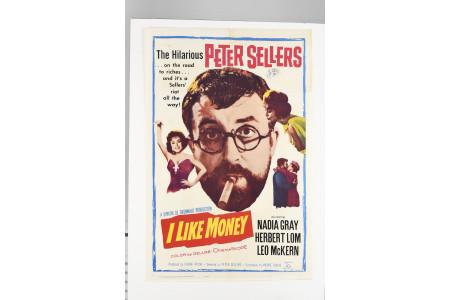 "Original ""I Like Money"" Cinema Poster"
