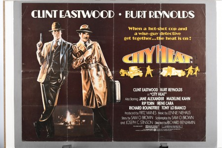 "Original ""City Heat"" Film Poster"