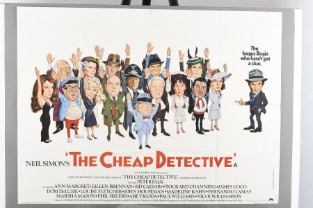 "Original ""The Cheap Detective"" Cinema Poster"