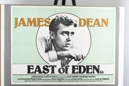 "Original ""East of Eden"" Cinema Poster"