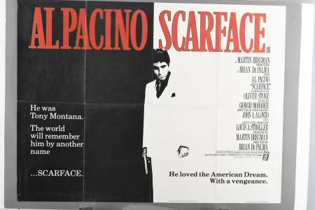 "Original ""Scarface"" Cinema Poster"