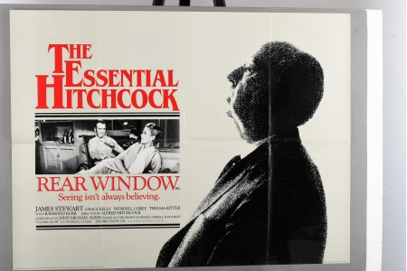 "Original Hitchcock ""Rear Window"" Cinema Poster"