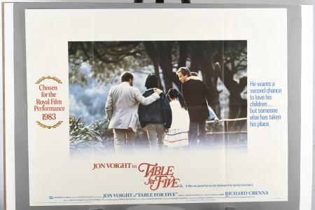 "Original ""Table for Five"" Cinema Poster"